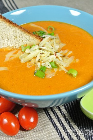 Spicy Tomato Basil Soup
