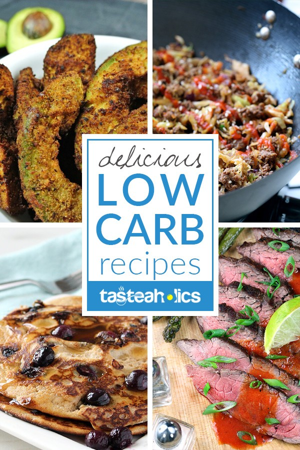 Low Carb Recipes - Hundreds of low carb recipes that will make your mouth water! Each one of our keto recipes is healthy and extremely delicious. Go low carb and never turn back! | Tasteaholics.com