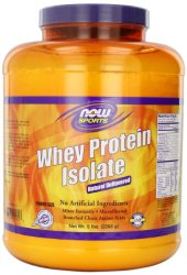 NOW Whey Protein - Unflavored