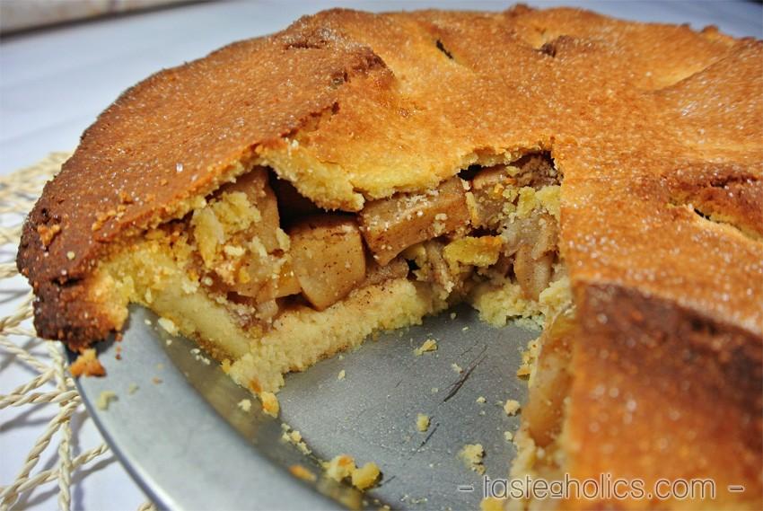 Paleo apple kuchen