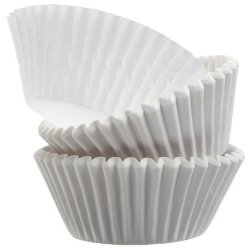Standard Size White Cupcake Paper Baking Cup Cup Liners 500 Pcs