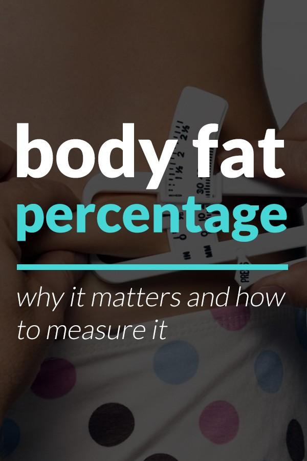body fat percentage