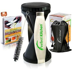 iPerfect Kitchen Envy Spiral Slicer Bundle - Vegetable Spiralizer - Zucchini Spaghetti Pasta Maker
