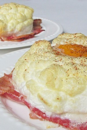 Egg Clouds over Bacon