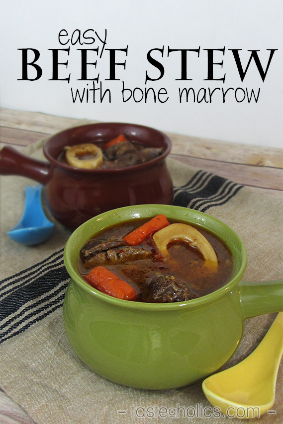 Easy Beef Stew with Bone Marrow