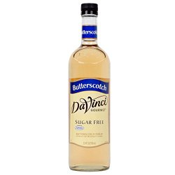 DaVinci SUGAR FREE Butterscotch Syrup w Splenda 750 mL