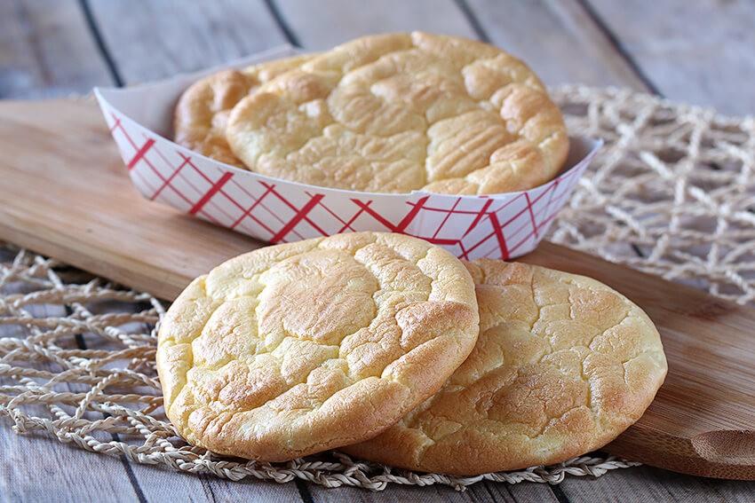 Basic Oopsie Rolls - Cloud Bread