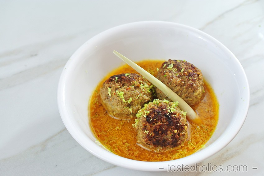 Low Carb Meatballs in Coconut Broth