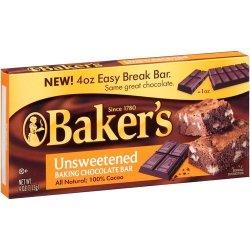 Unsweetened Baker's Chocolate