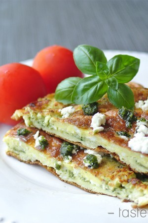 Pesto Omelette final