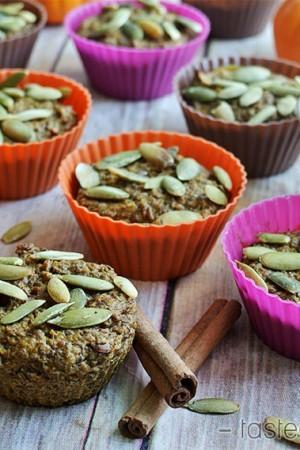 Pumkpin Flaxseed Muffins