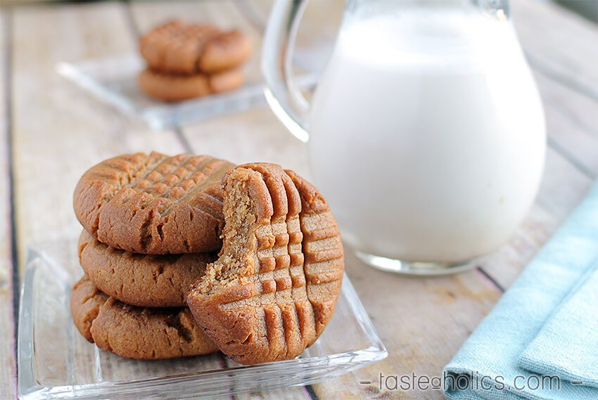 Low Carb Peanut Butter Cookies 2