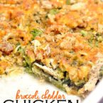 Cheddar Chicken & Broccoli Casserole [VIDEO]