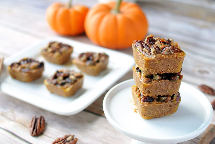 Low Carb Pumpkin Pie Bites - Sugar free Fat Bombs