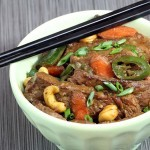 Cashew Beef Thai Stir Fry - Low Carb Dinner Recipe