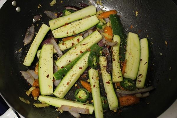 zucchini and jalapeno