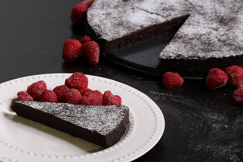 Flourless Chocolate Cake Low Carb Cake Recipe