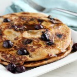 Paleo blueberry pancakes
