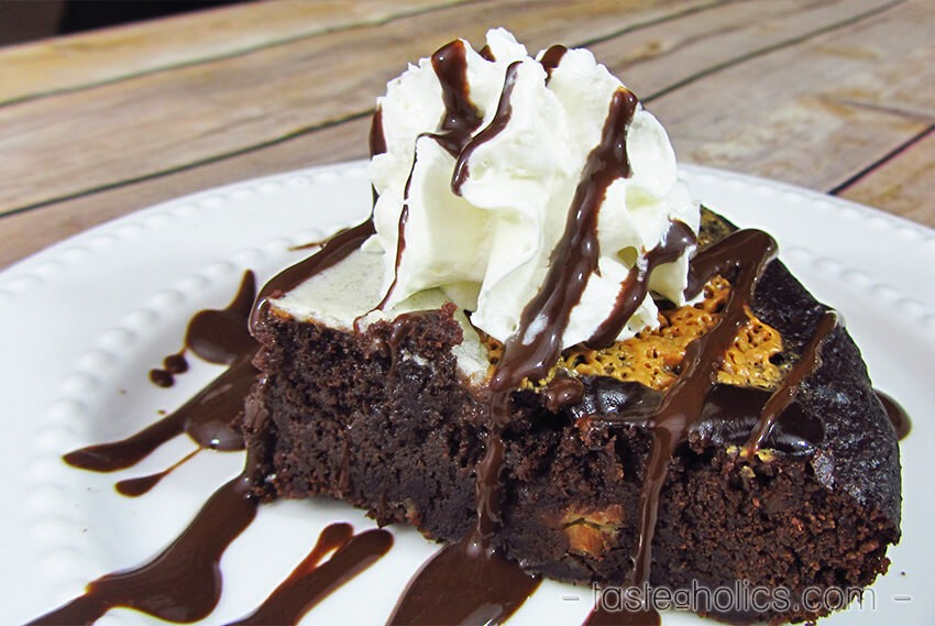 Sugar Free Chocolate Skillet Brownies