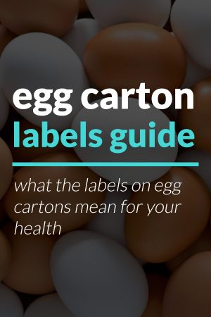 egg carton labels guide