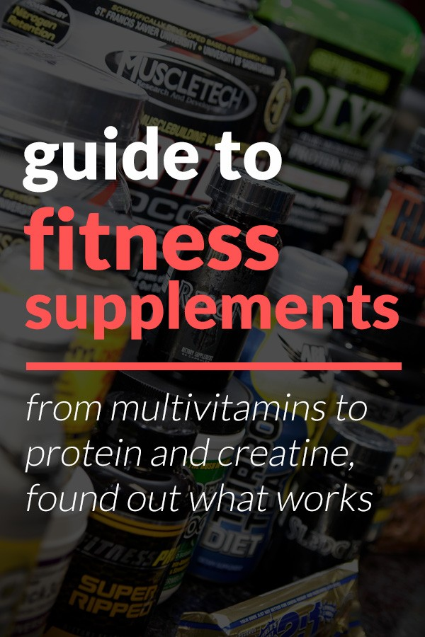 guide to fitness supplements