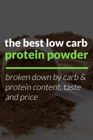 low carb protein powder