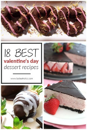 Low Carb Dessert Recipes - 18 Best Valentine's Day Desserts