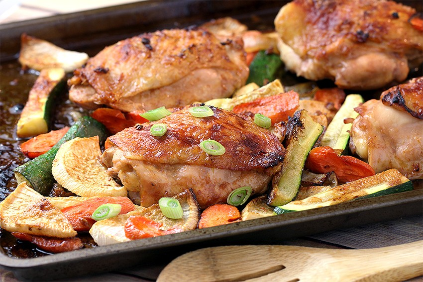 One pan chicken veggies low carb dinner one pan chicken veggies easy low carb dinner recipe forumfinder Images