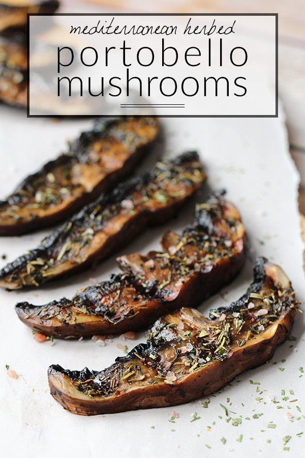Keto Mediterranean Grilled Portobello Mushrooms Recipe Low Carb Paleo