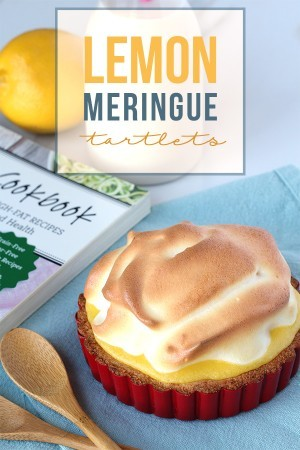 Low Carb Lemon Meringue Tartlets - Tasteaholics.com