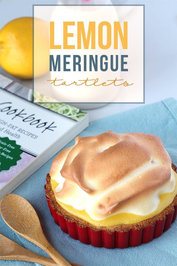 Low Carb Lemon Meringue Tartlets - Tasteaholics.com