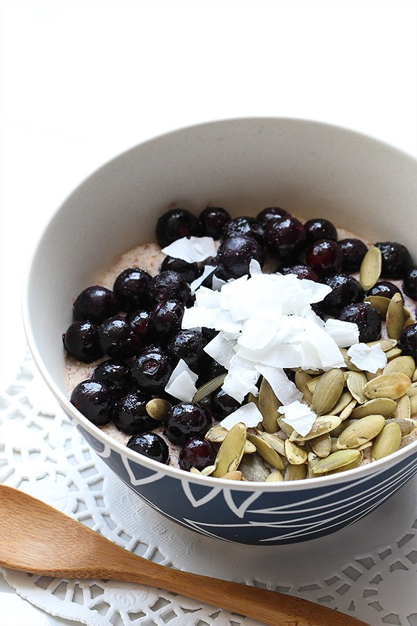 blueberry porridge 3.5