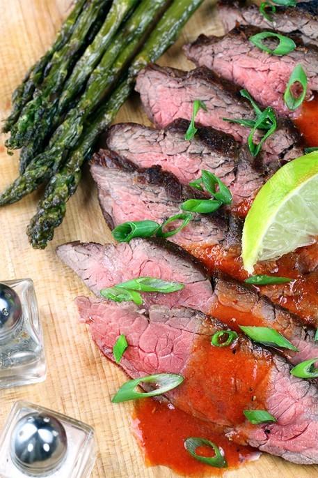 Sriracha Lime Flank Steak