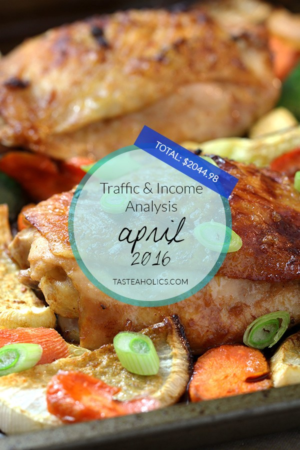 April Income and Traffic Analysis