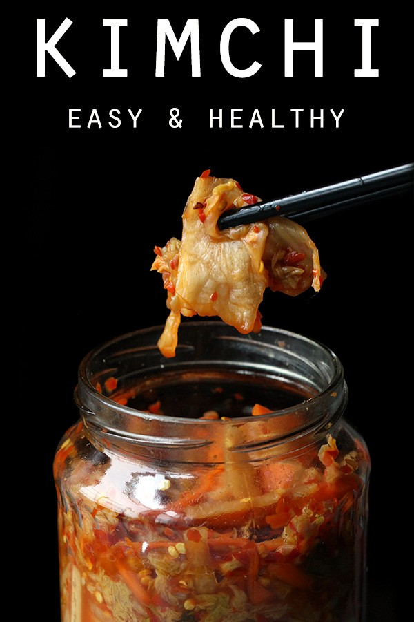 Easy homemade kimchi healthy dinner side click to pin this recipe forumfinder Images