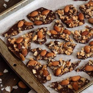 Toasted Coconut Almond Bark
