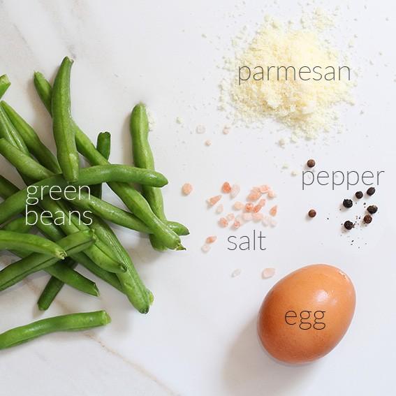 Green Bean Fries in 5 Ingredients