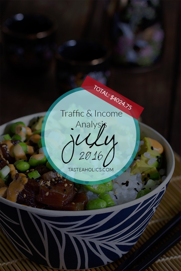 July Income and Traffic Analysis Report