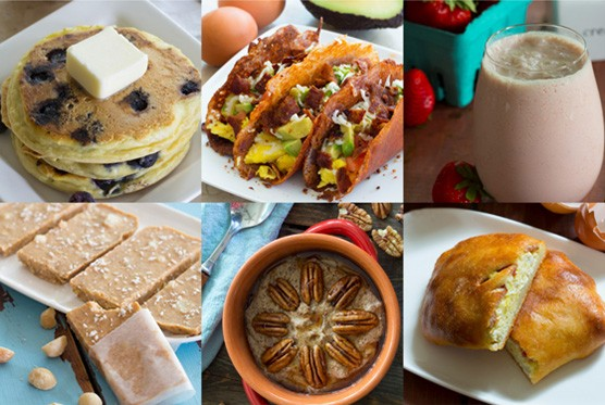 30 Breakfast Recipes all under 5 grams of carbs using only 5 ingredients!