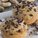 Healthier Peanut Butter Chocolate Chip Muffins