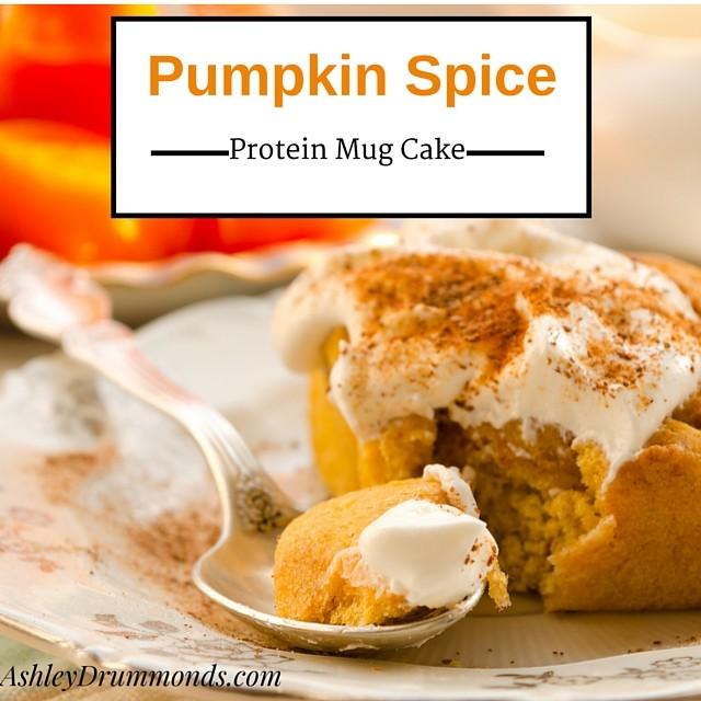 pumpkin-spice-protein-mug-cake