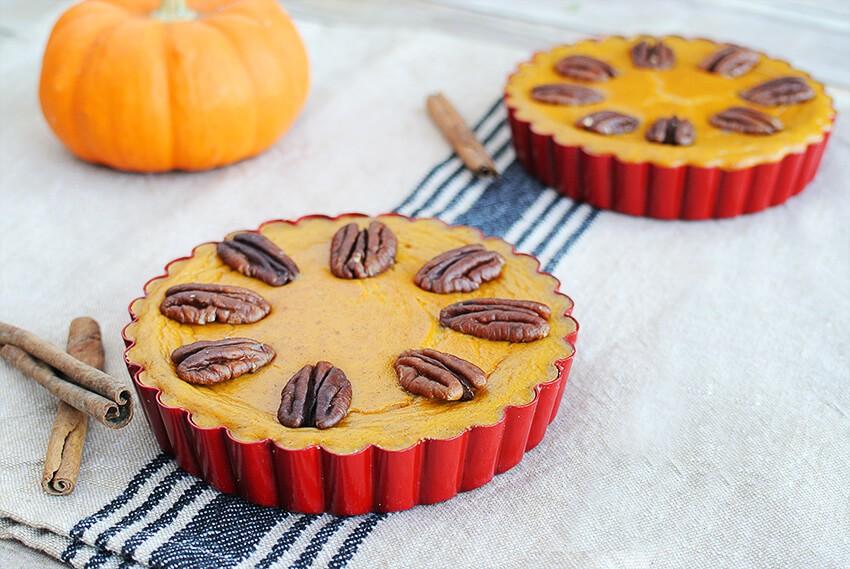 Pumpkin-Pecan-Tarts