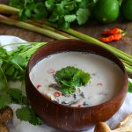 Thai Coconut Chicken Soup - Tom Kha Gai