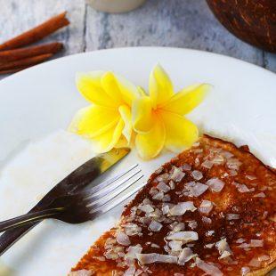 Coconut Pancakes - Low Carb & Gluten Free Healthy Breakfast