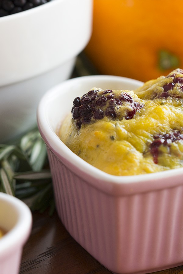 Blackberry Egg Bake Recipe