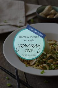 January Income and Traffic Analysis