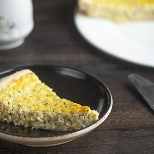 Chicken and Zucchini Breakfast Quiche