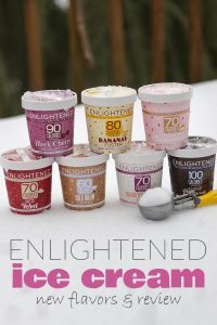 Enlightened Ice Cream - New Flavors & Review