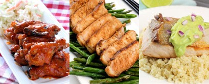 30 low carb dinners