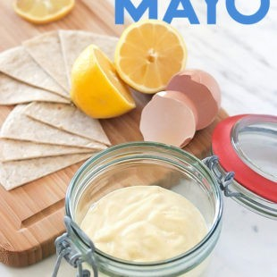 Homemade Mayonnaise - Keto, Paleo & Gluten-free Recipe